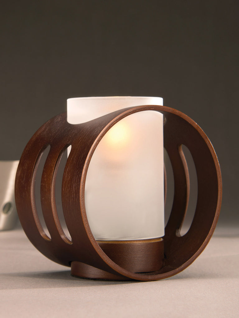 Wood Lamp - Oracle