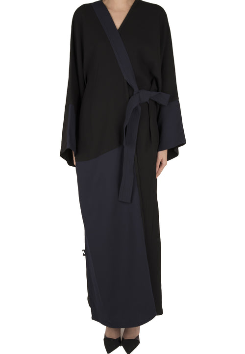 Half and Half Abaya - dukkanmeem  - 2