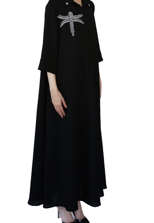 Black Crystal Kaftan
