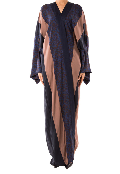 Striped Abaya - dukkanmeem  - 2