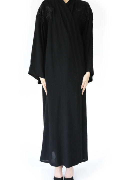 Shoulder Flower Abaya