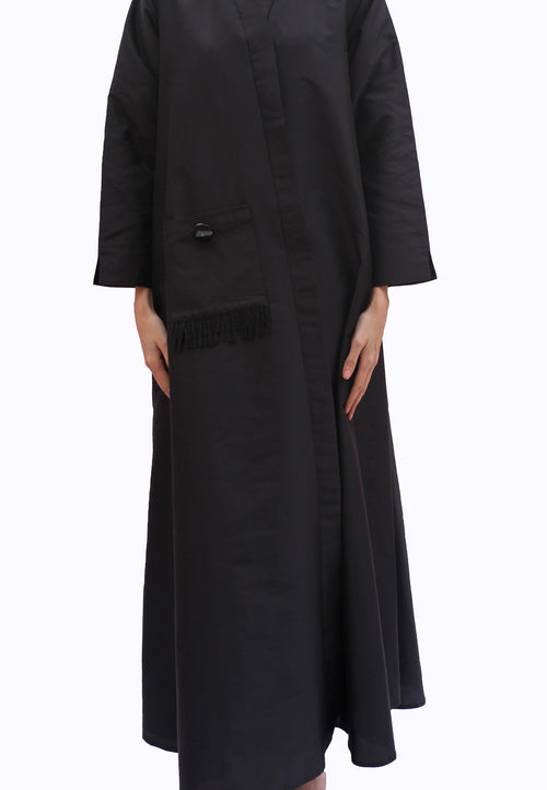 Beaded Pocket Abaya