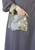 Flower Pocket Abaya