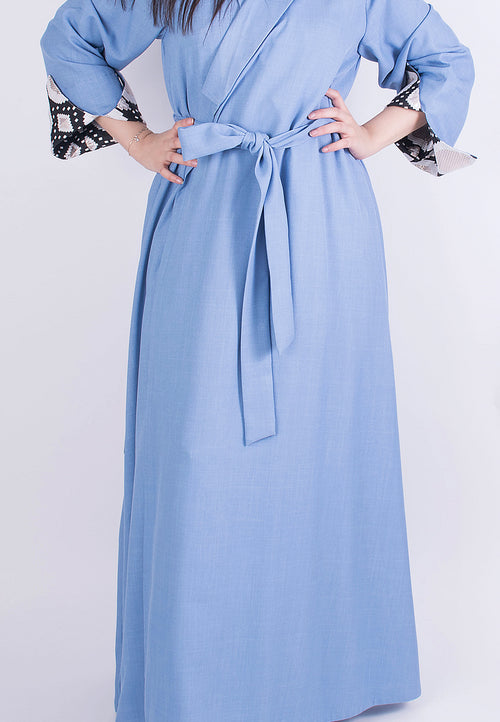 Light Blue Kaftan