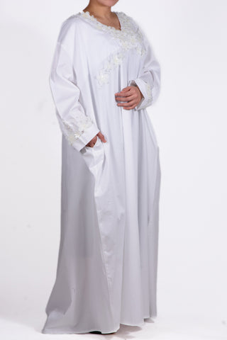 All White Kaftan