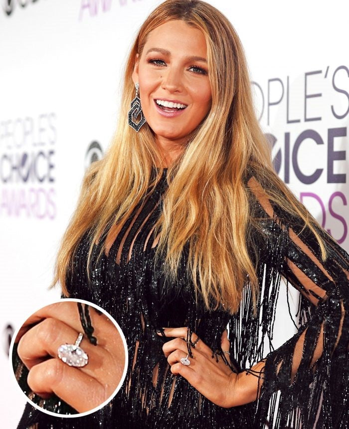 Blake Lively's Engagement Ring Richter & Phillips Jewelers Cincinnati OH