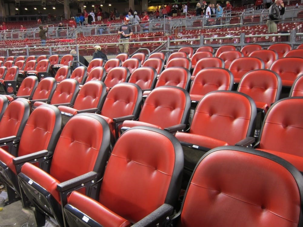 Cincinnati Reds Diamond Seats