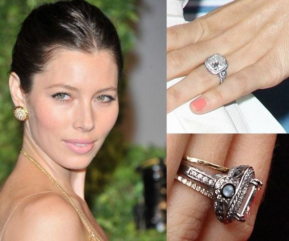 Jessica Biel's Engagement Ring Richter & Phillips Jewelers Cincinnati OH