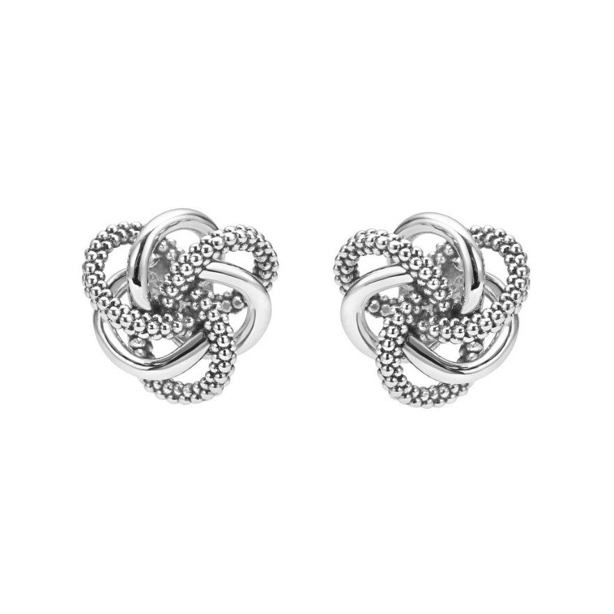 Love Knot Stud Earrings by Lagos