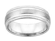 White Gold 7mm Wedding ring