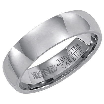 Tungsten Carbide 6mm Wedding ring