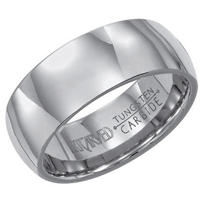 Tungsten Carbide 8mm Wedding ring