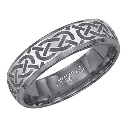 Tungsten Carbide 6mm Wedding Band