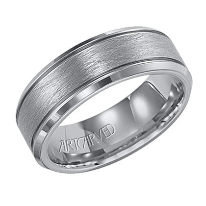Tungsten Carbide 7.5mm Wedding ring