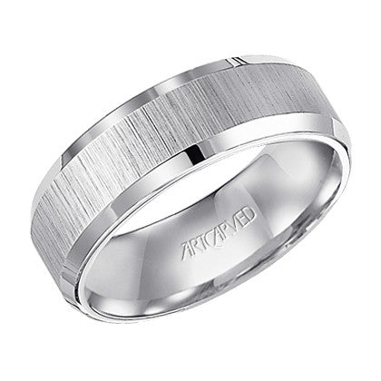Tungsten Carbide 7.5mm Wedding Band