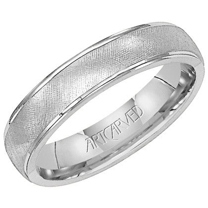 White Gold 5mm Wedding ring