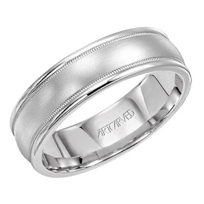 White Gold 6.5mm Wedding ring