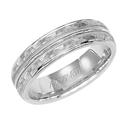 White Gold 6mm Wedding ring