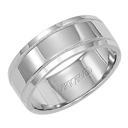 White Gold 7.5mm Wedding ring
