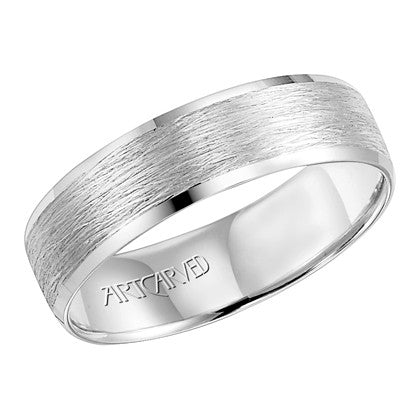 White Gold 6mm Wedding Band
