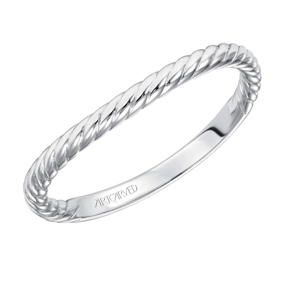 Rope Design Wedding ring
