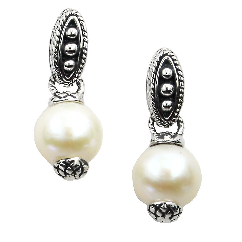 Andrea Candela Pearl Drop Earrings ACE288-P