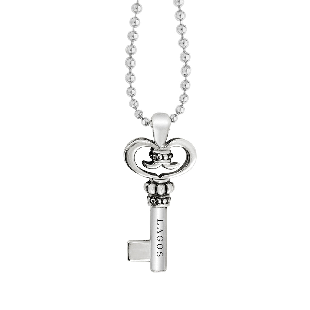 LAGOS LAGOS KEYS KEY PENDANT NECKLACE Richter & Phillips Jewelers Cincinnati OH