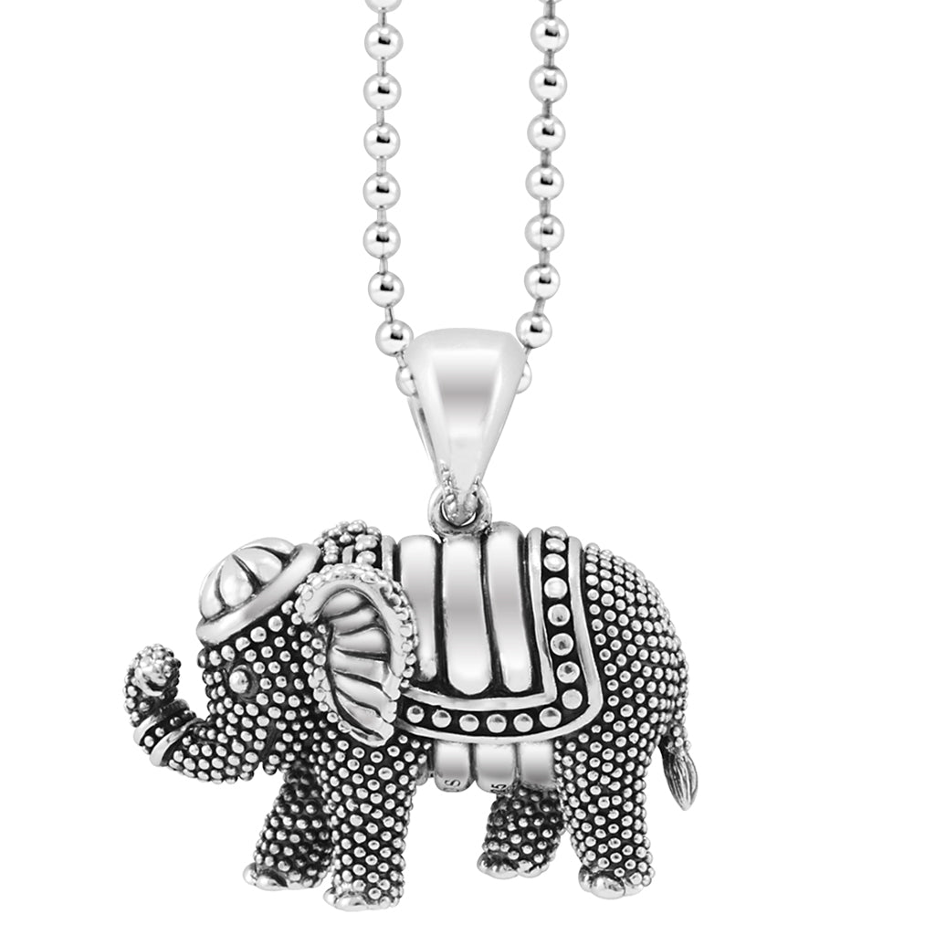 LAGOS RARE WONDERS ELEPHANT PENDANT 07-80600-B34 Richter & Phillips Jewelers Cincinnati OH