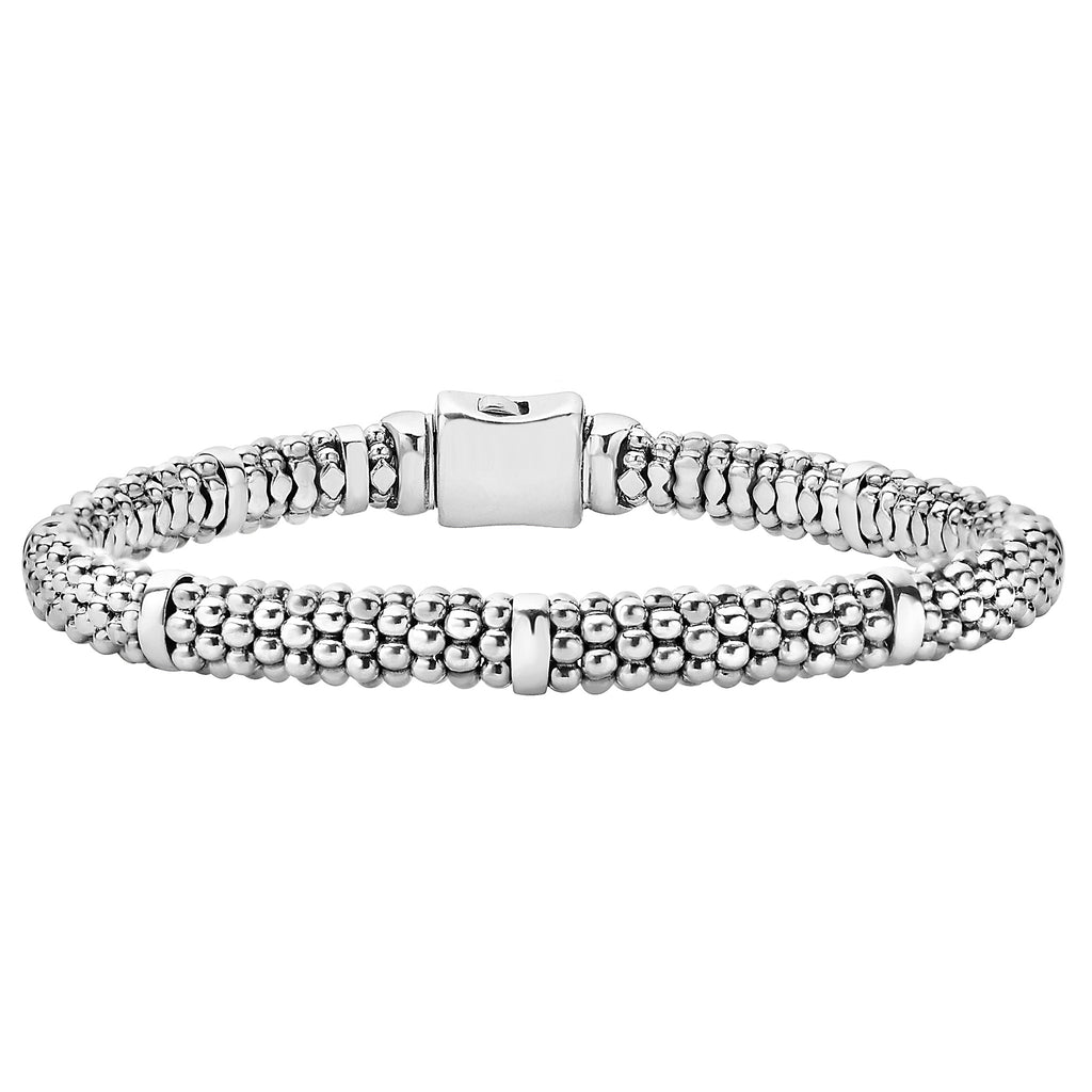LAGOS SIGNATURE CAVIAR BEADED BRACELET 05-80602-7 Richter & Phillips Jewelers Cincinnati OH