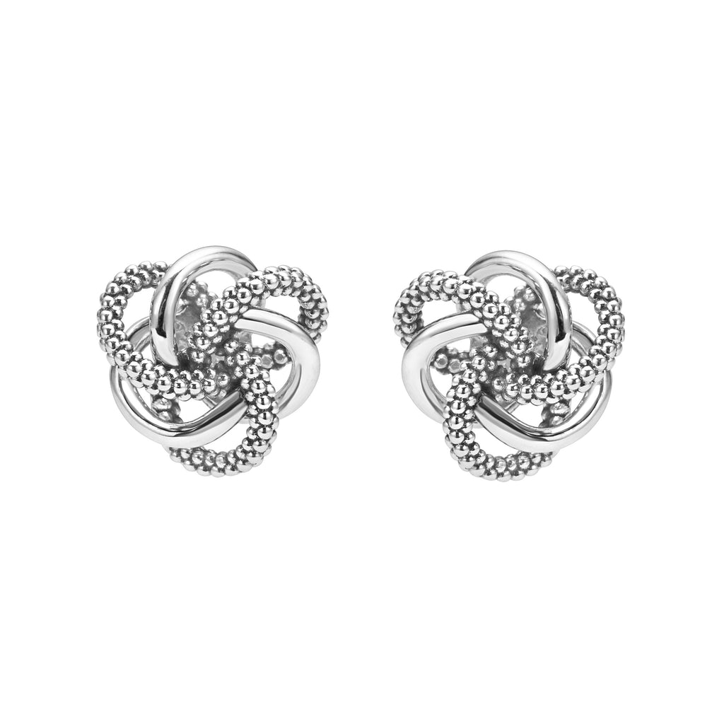 Lagos Love Knot Stud Earrings 01-81461-10 Richter & Phillips Jewelers Cincinnati OH