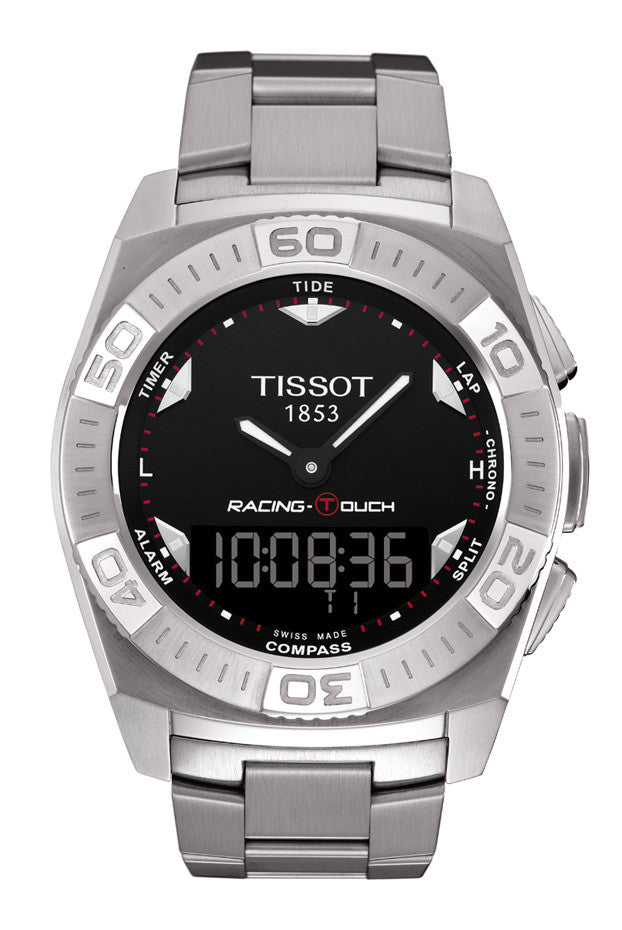 Gents Stainless T-Racing Touch