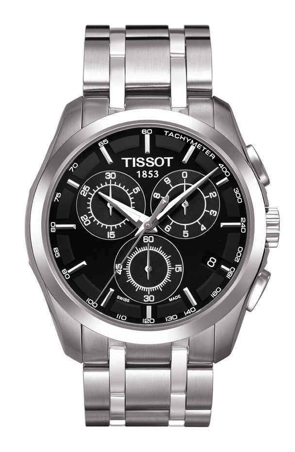 gents stainless couturier chronograph