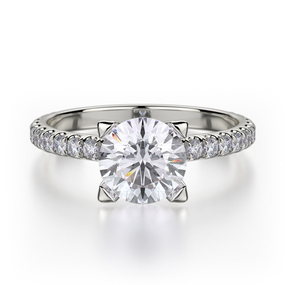 Platinum Europa Diamond Engagement Ring