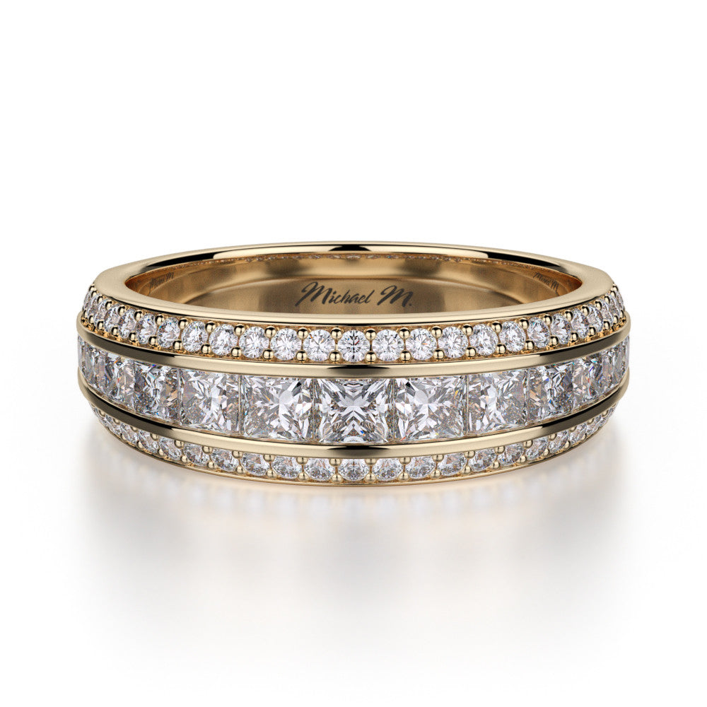 18K Yellow Gold Diamond Wedding Ring