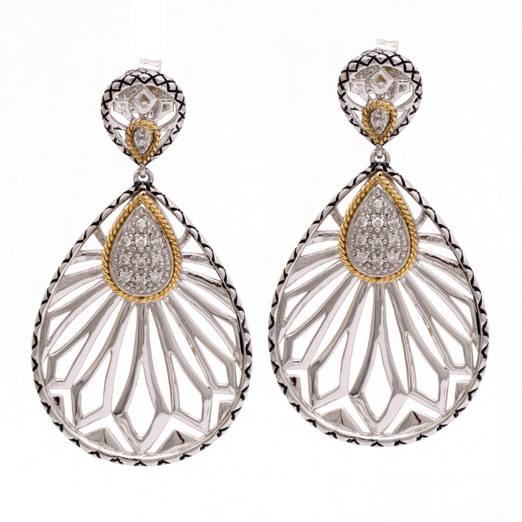Andrea Candela Diamond Drop earrings ACE350/24