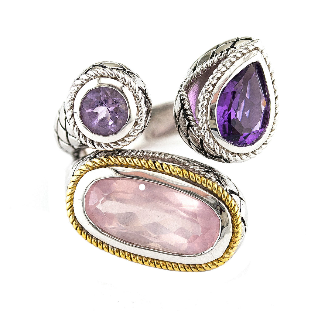 Andrea Candela Colored Stone Ring ACR268-PAARQ