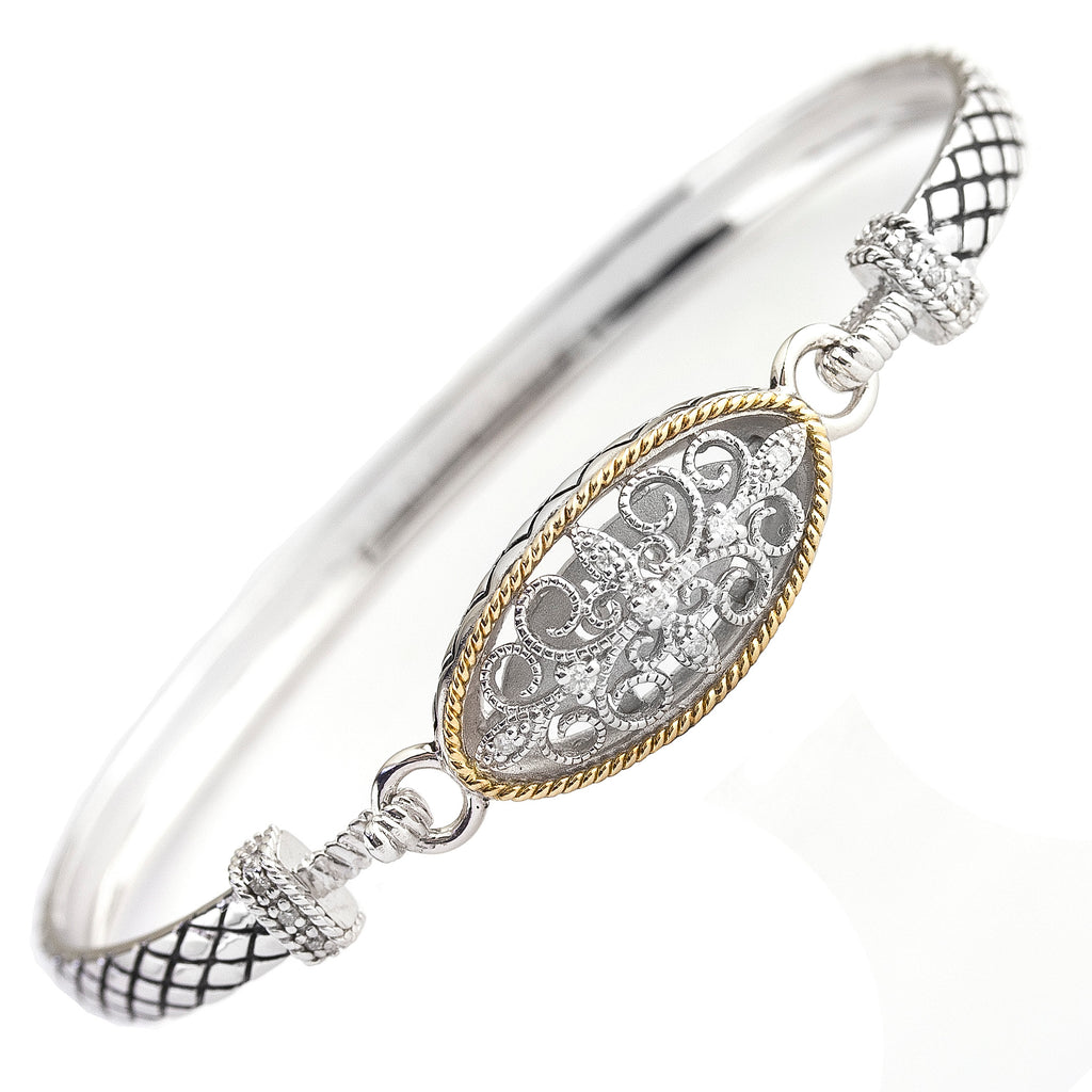 Andrea Candela Diamond Bangle Bracelet ACB301/08