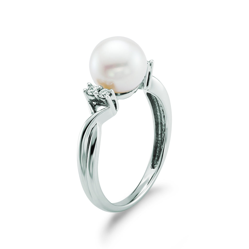Pearl Twist Ring