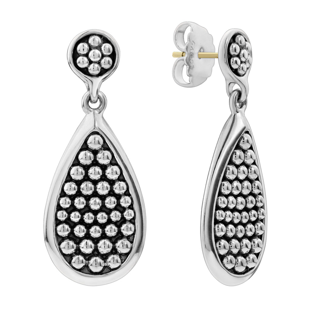 Lagos Bold Caviar Drop Earrings 01-81632-00