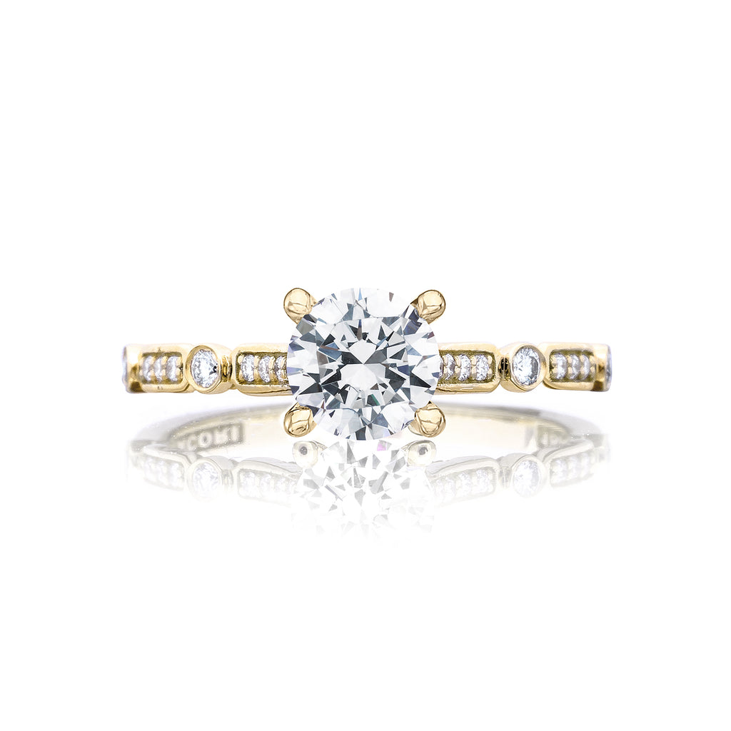 Tacori Yellow gold diamond engagement ring 202-2RD6Y