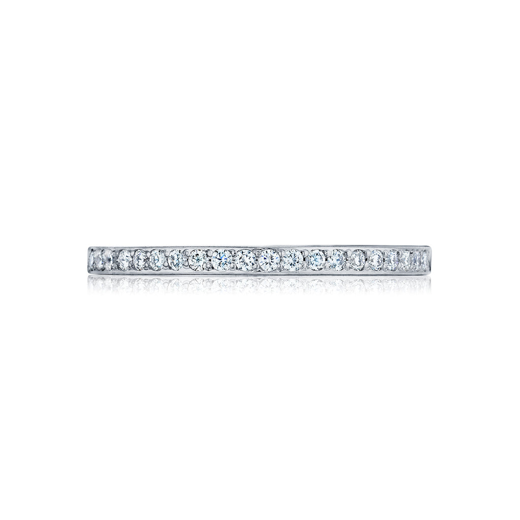 tacori ribbon diamond wedding band 252612