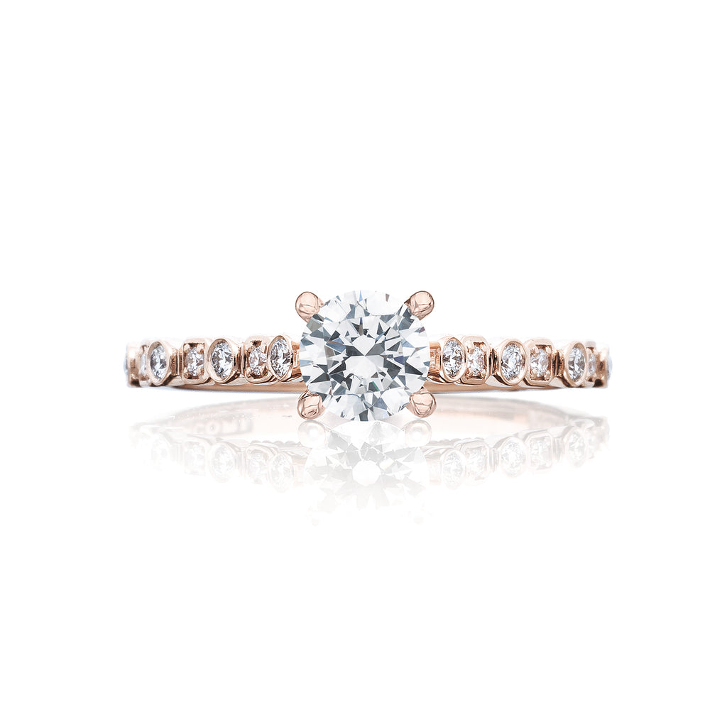 Tacori Rose Gold Diamond engagement ring 201-2RD5PK
