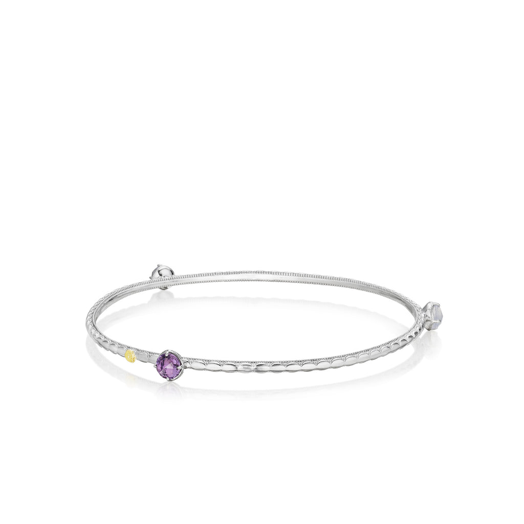 Tacori Color Pop Trio Bangle featuring Assorted Gemstones SB121130126 Richter & Phillips Jewelers Cincinnati OH