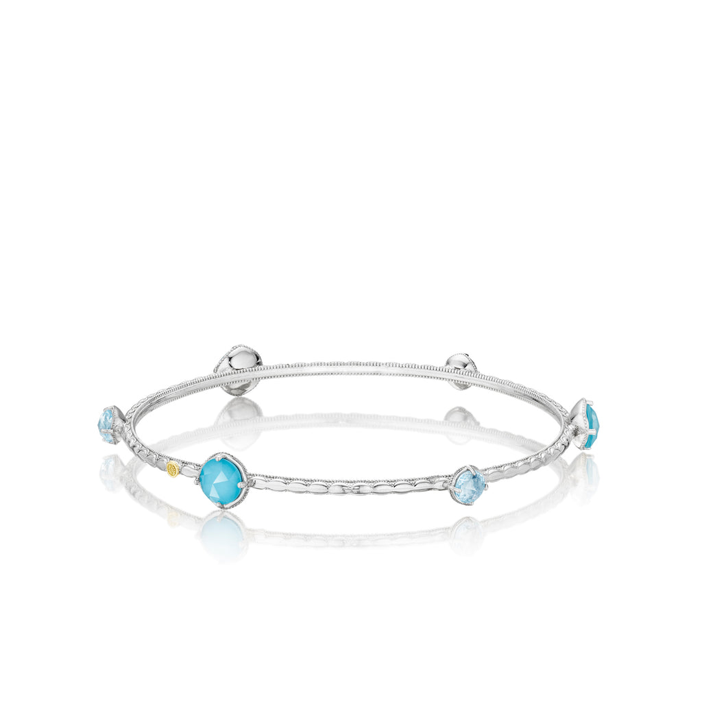 Tacori Color Pop Multi Bangle featuring Assorted Gemstones SB1320502 Richter & Phillips Jewelers Cincinnati OH