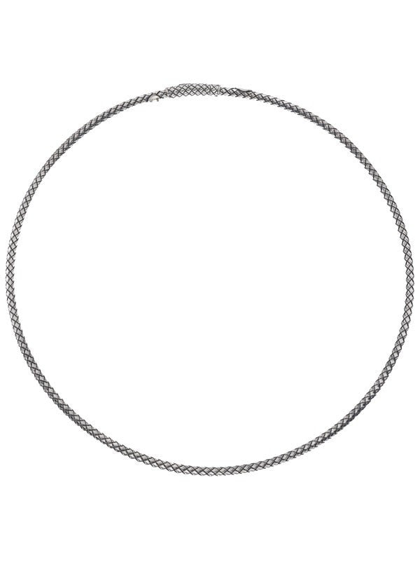 "16"" Sterling Silver Collar Necklace"