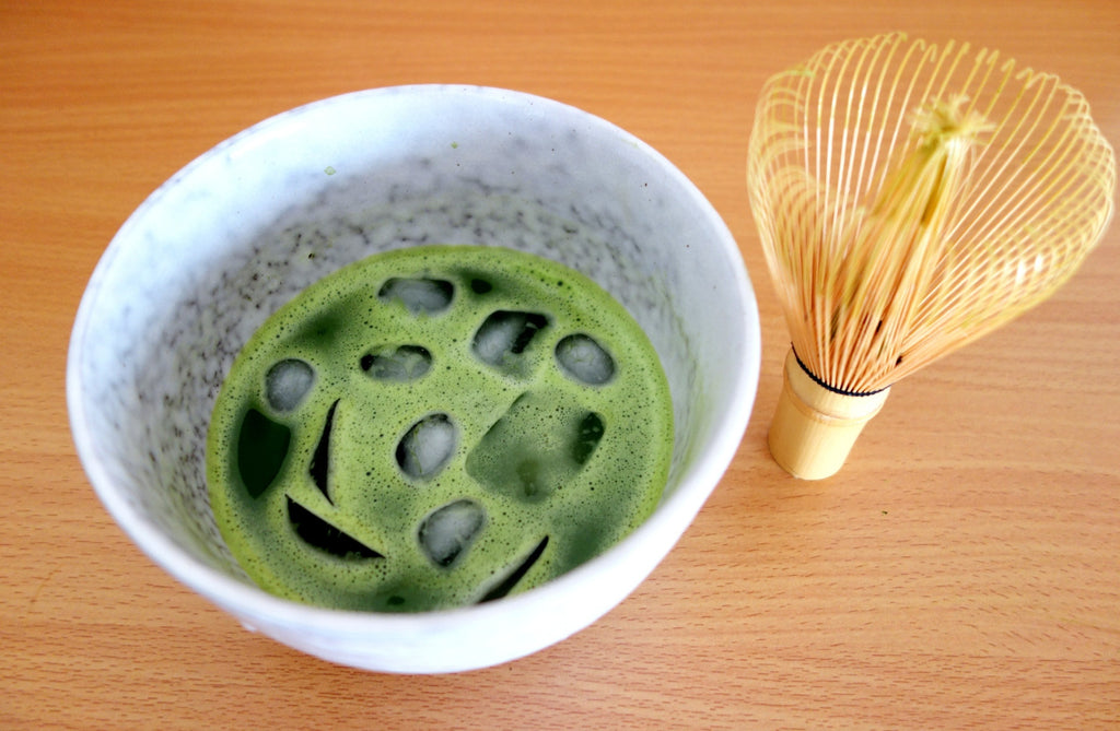 Iced Organic Matcha Tea - Grace & Green