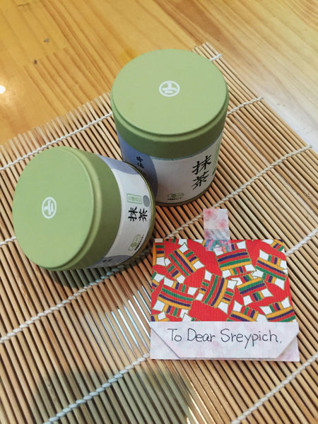 The Matcha Green Tea Order from Cambodia - Grace & Green
