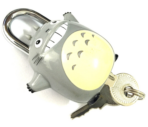 Totoro Padlock for Luggage