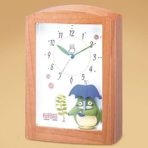 Totoro Music Box Alarm Clock