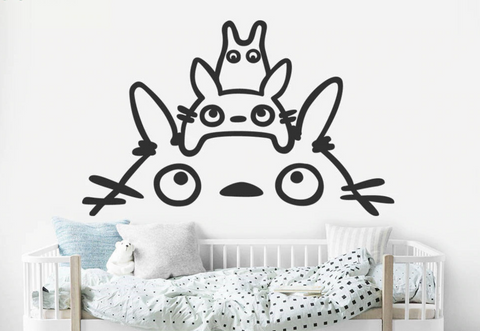 Totoro Wall Decal Removable Sticker for Nursery or Kids Room